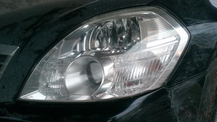 Тюнинг Nissan Teana замена линз ксенон (15)