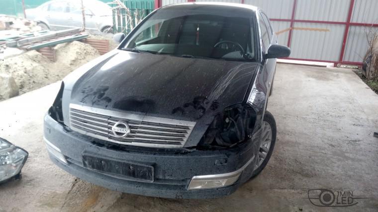 Тюнинг Nissan Teana замена линз ксенон (19)