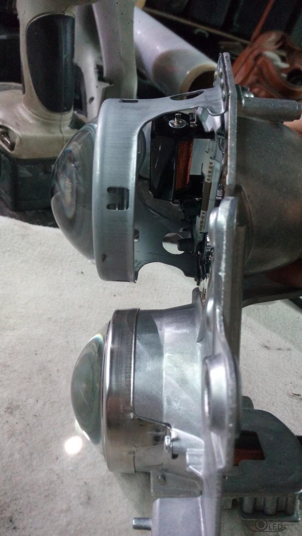 Тюнинг Nissan Teana замена линз ксенон (26)