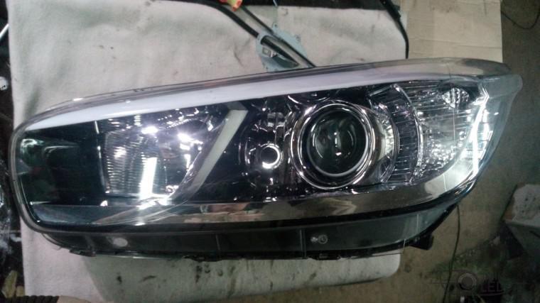 ремонт фары замена стекла kia ceed (1)