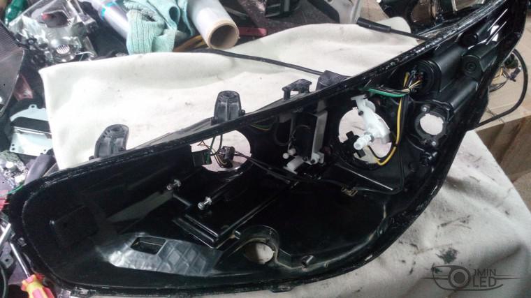 ремонт фары замена стекла kia ceed (11)