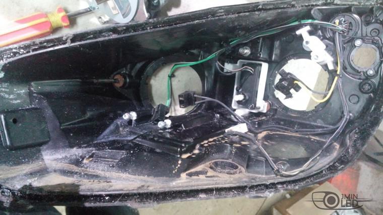 ремонт фары замена стекла kia ceed (8)