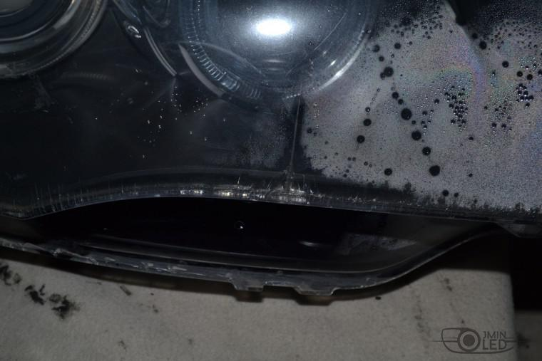 ремонт фар замена стекла bmw x5 e70 (3)