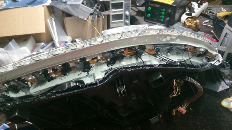ремонт mercedes s-klasse w221 (4)