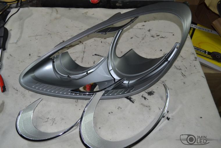 тюнинг фар покраска Porsche Cayenne пор каен (6)