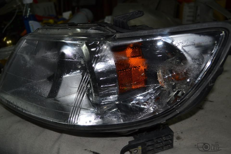 Ремонт фар Subaru Tribeca (3)