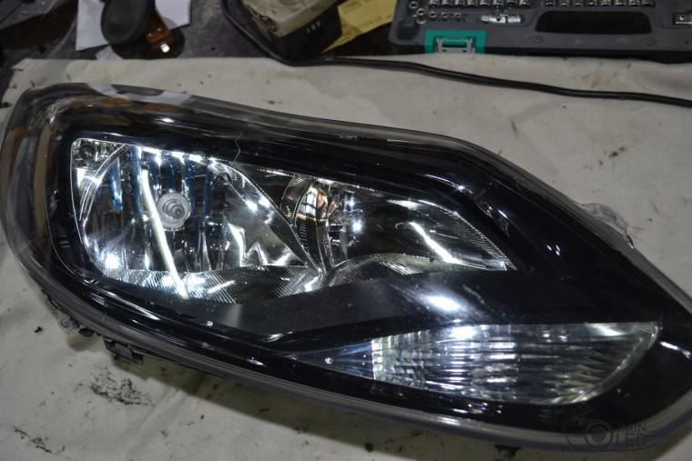 тюнинг фар ford focus 3 установка замена линз биксенон (2)