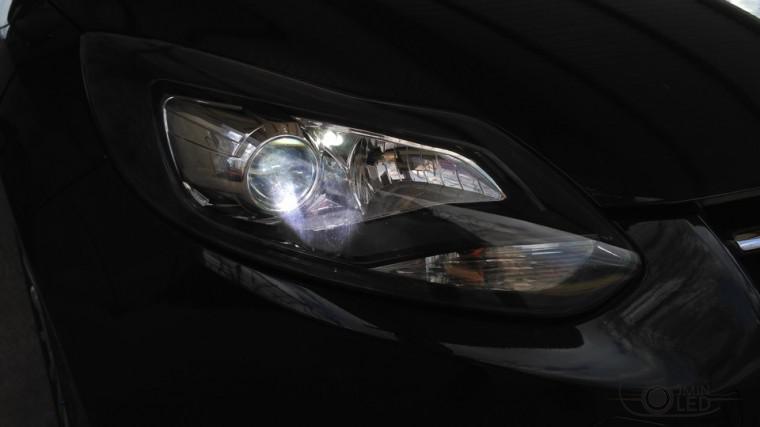 тюнинг фар ford focus 3 установка замена линз биксенон (5)