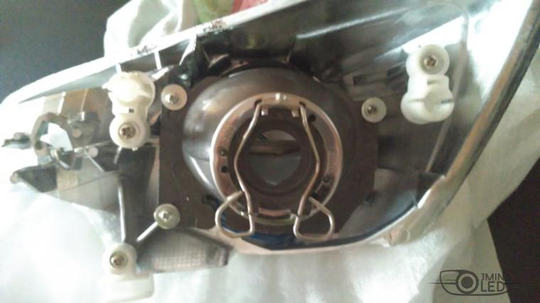 тюнинг фар ford focus 3 установка замена линз биксенон (7)