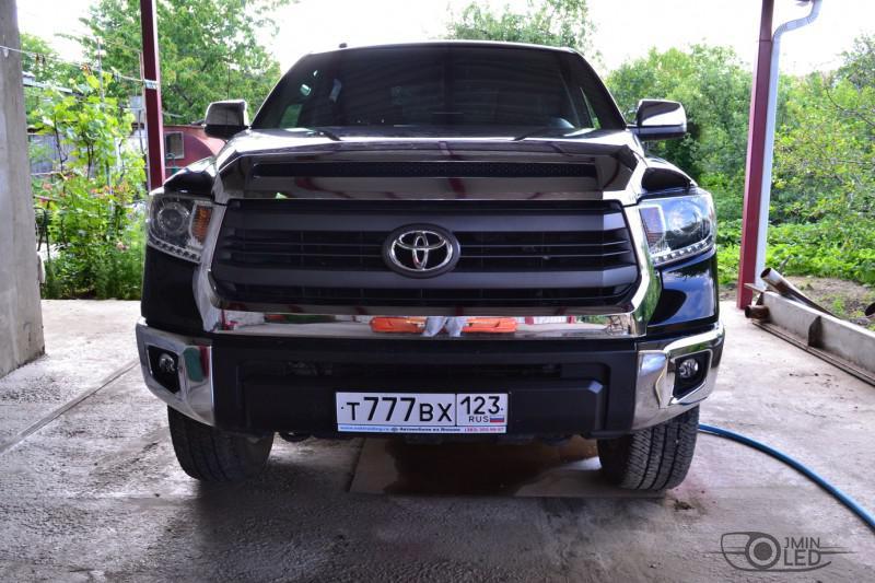 тюнинг фар Toyota Tundra