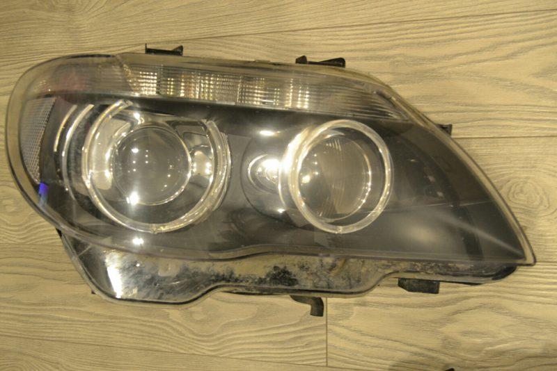 ремонт фар bmw 7 e65 e66