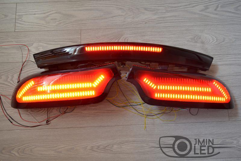 Mazda RX-7 тюнинг задних фонарей