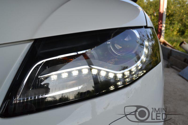 Audi замена стекол фар